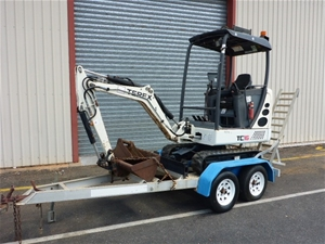 2008 Terek TC16 Mini Excavator