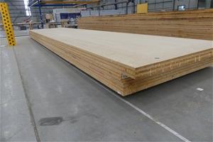 4 x Cross Laminated Timber Panels