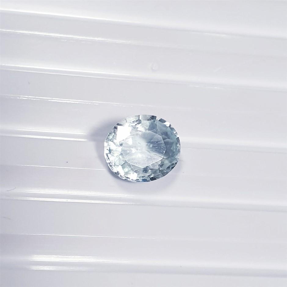 2.89 ct Oval Cut Aquamarine