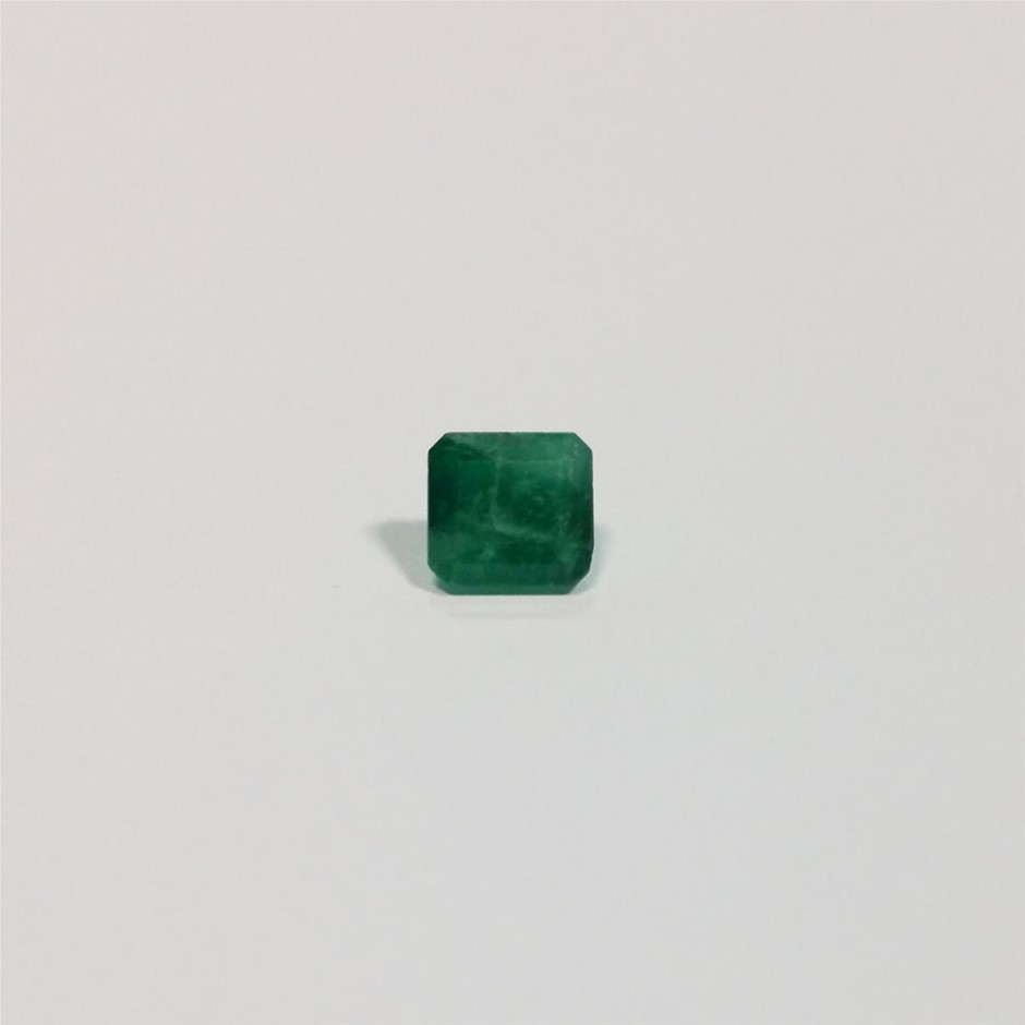 1.75 ct Emerald Cut Colombian Emerald