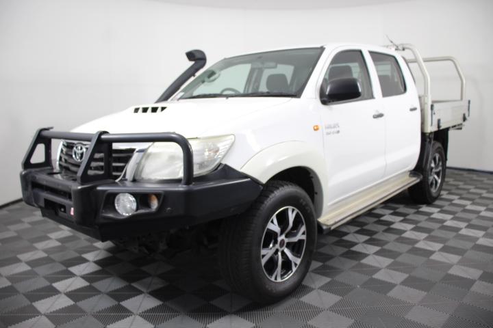 2014 Toyota Hilux SR (4x4) Turbo Diesel Automatic Dual Cab, 142,295km