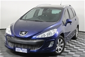 Unreserved 2009 Peugeot 308 Touring XSE Turbo