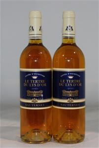 Le Tertre Dulys D`or `Sauterne` Sauterne