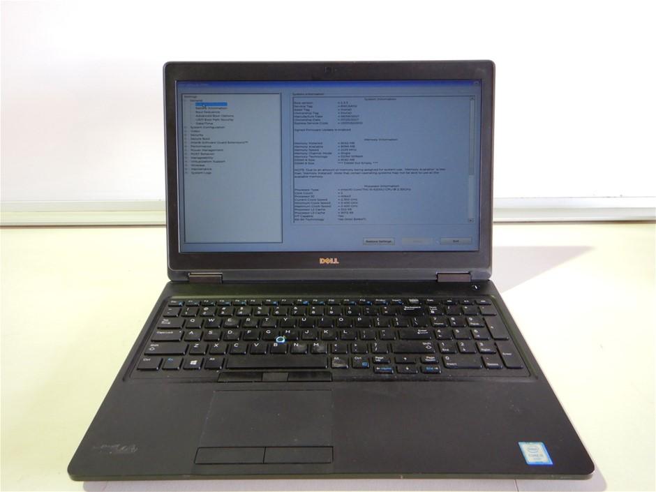 2017 Dell Latitude 5580 Laptop