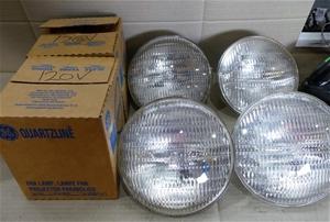 6 x Quartzline PAR Lamps