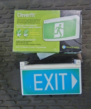 Qty 3 x Exit Signs