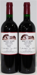 Mount Mary 'Quintet' Red Blend 2006 (2x