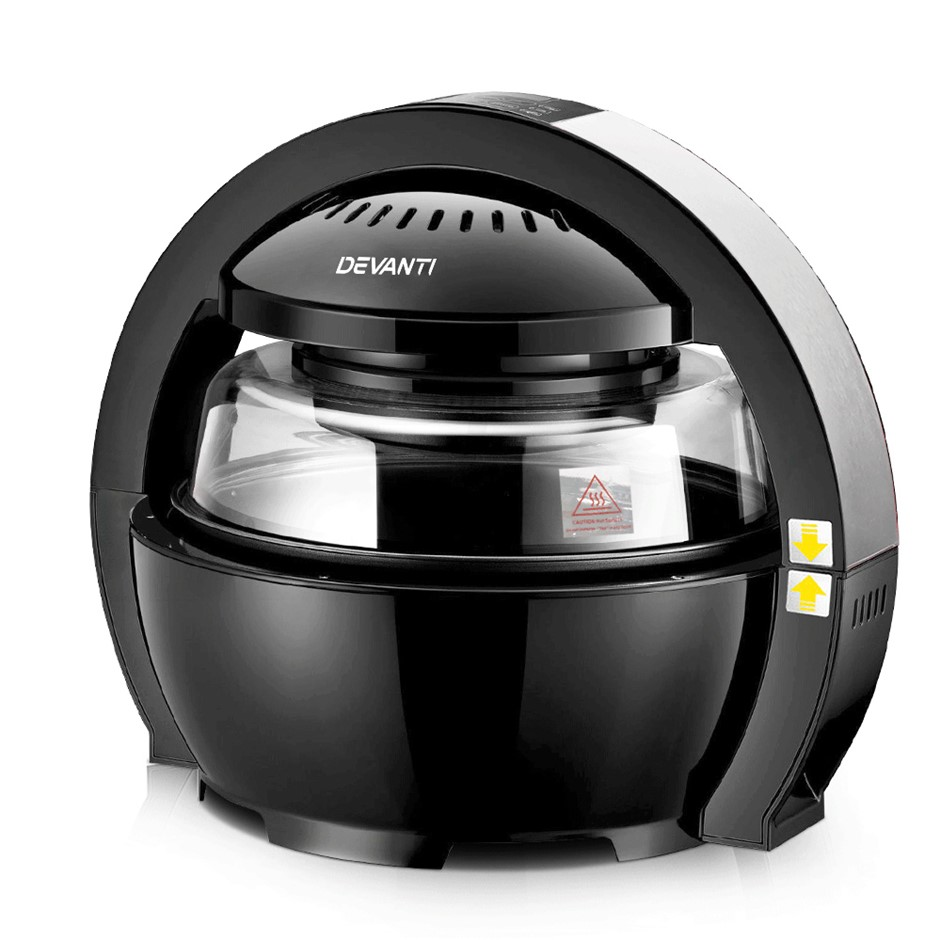 Devanti 13L Air Fryer Oven Cooker - Black
