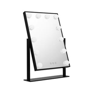 Embellir LED Standing Makeup Mirror - Bl