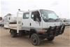 1999 Mitsubishi Canter (4x4) Diesel 7 Seater D/Cab Tray Body 176,633 Kms