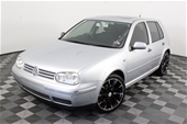 Unreserved 2002 Volkswagen Golf GLE A4