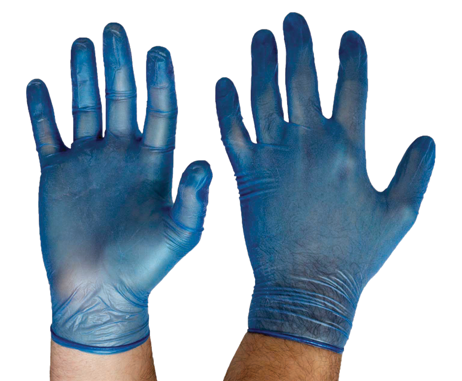 Pallet of 30 Cartons of Glove Disposable Vinyl LGE Powder Free Blue