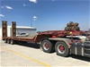 1979 Ausquip Industries Boomarang Tri Axle Low Loader