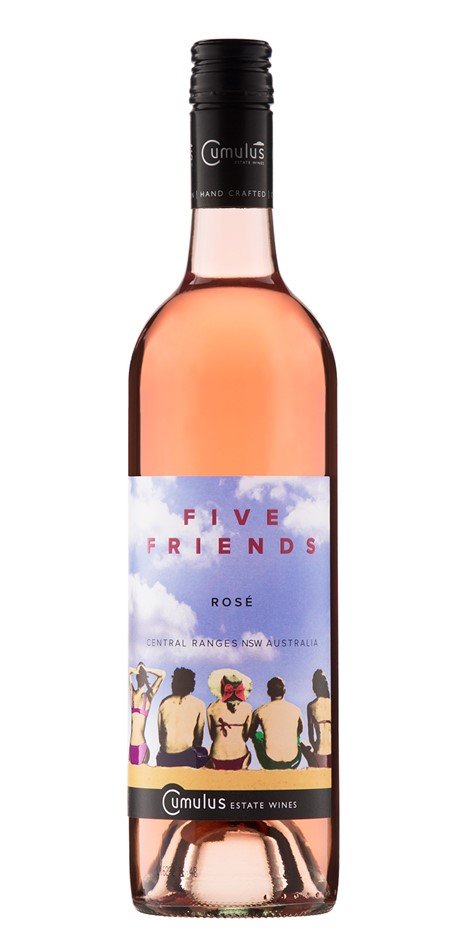 Five Friends Rose 2018 (6 x 750mL) Central Ranges, NSW