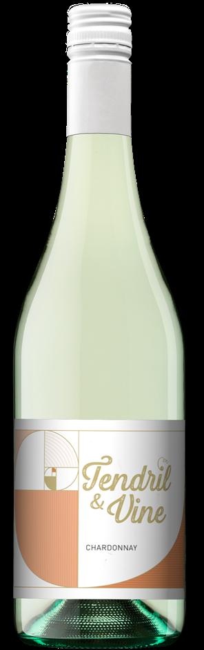 Zilzie Tendril & Vine Chardonnay 2019 (12 x 750mL) SEA