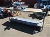 1 x Steel Fabricated Bench with Ryobi Mitre Saw