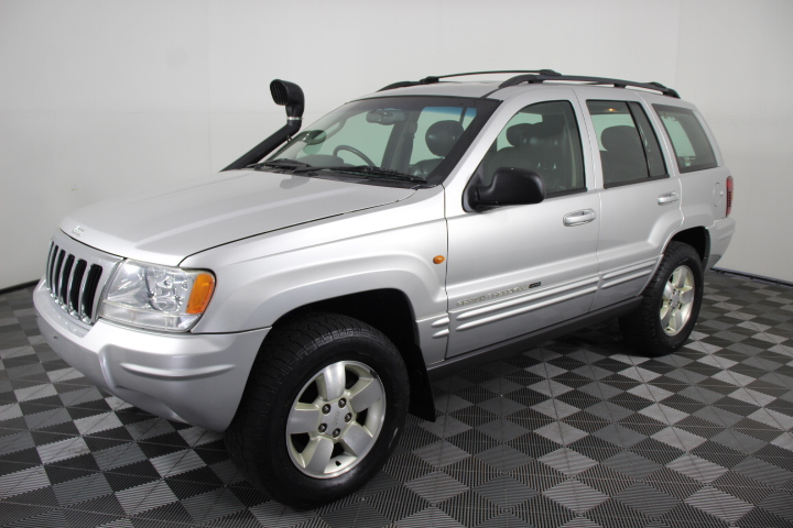 2003 Jeep Grand Cherokee Limited (4x4) Turbo Diesel Auto Wagon