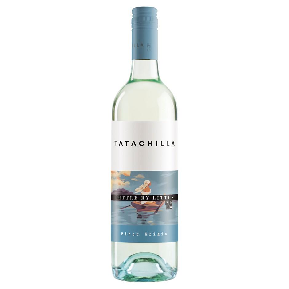 Tatachilla `Little by Little` Pinot Grigio 2018 (6 x 750mL), McLaren Vale.