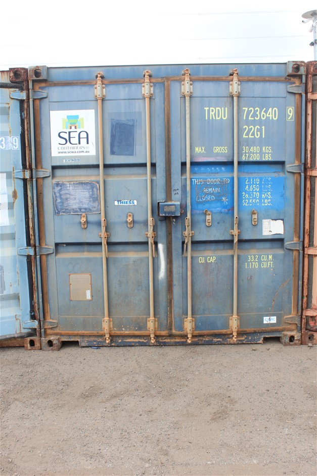 2010 20-Foot Shipping Container