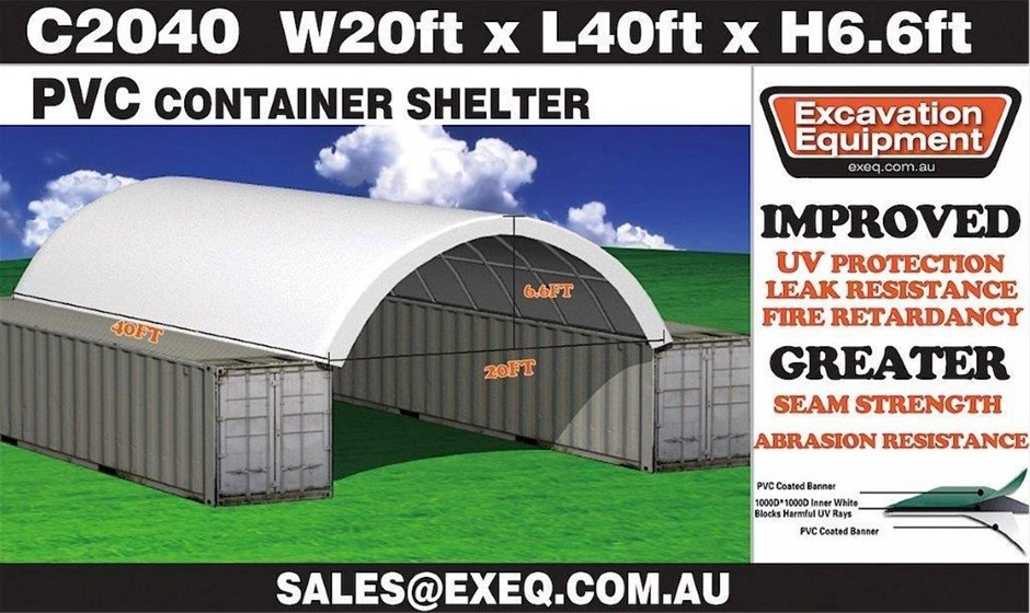 2019 Unused Heavy duty 40ft Container Shelter,