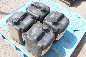 4x 20 Litre Containers of Ansulite Formu