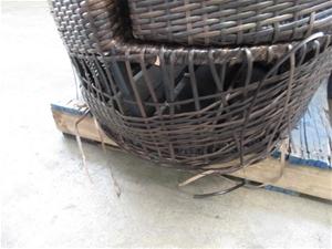 Bulk Pallet of Outdoor Wicker Furniture