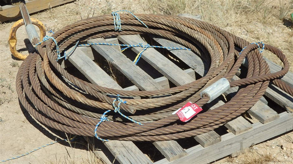 Pallet of 29mm Wire Tow Cable