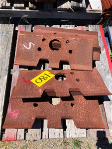Caterpillar Shoe -Track 153-4874 Lot Of