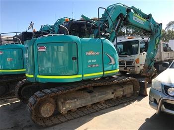 Kobelco SK135SR-2 Hydraulic Excavator (Tracked)