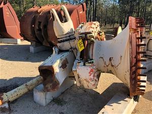 R280 Front Wheel Gp Trail arm Cut Off Lh