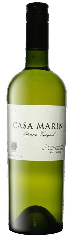 Casa Marín Cipreses Vineyard Sauvignon Blanc 2011 (6 x 750mL)