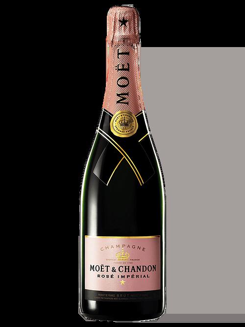 Moët & Chandon Rosé Impérial NV ( 2x 750mL). Fra. Cork Closure.