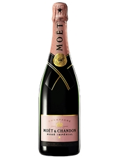 Moët & Chandon Rosé Impérial NV ( 2x 750mL). Fra. Cork Closure.
