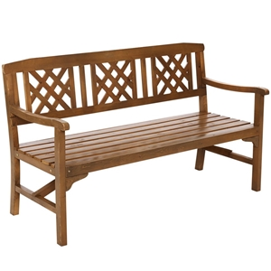 Gardeon Wooden Garden Bench 3 Seat Patio