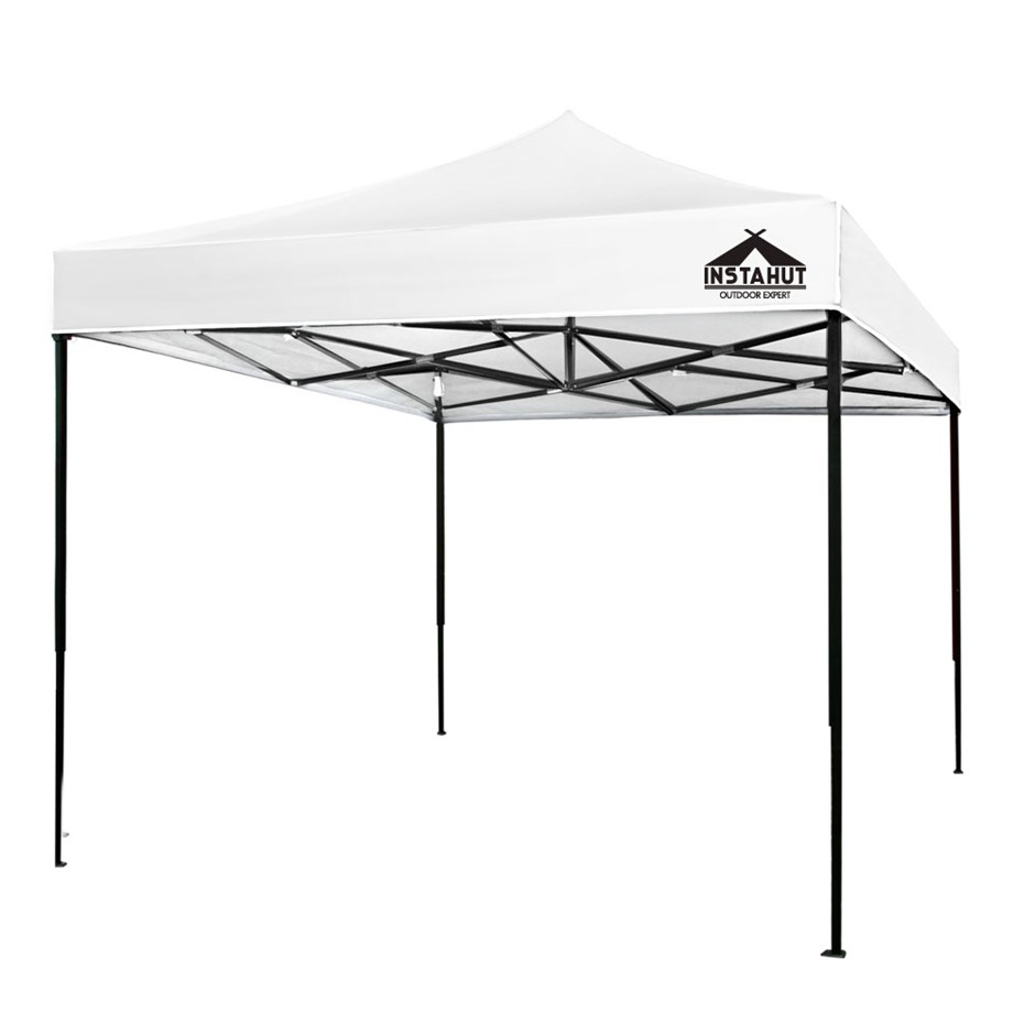 Instahut Gazebo 3x3 Pop Up Marquee Replacement Roof Outdoor Wedding White