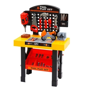 Keezi Kids Pretend Play Set Workbench To