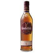 Glenfiddich 15YO Single Malt Scotch Whisky (1x700mL). Scotland