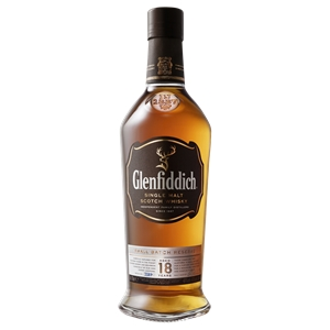 Glenfiddich 18YO Single Malt Scotch Whis