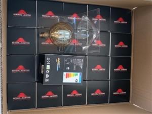 Box of 20 x G125mm LED Globe B22 Smoke 4