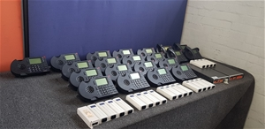 Bulk Lot Of Assorted Shortel Phone Syste