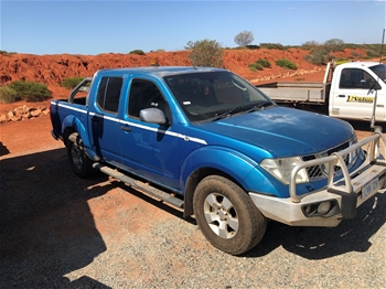 2007 Nissan Navara D40 4WD Manual 5 Speed Dual Cab Ute