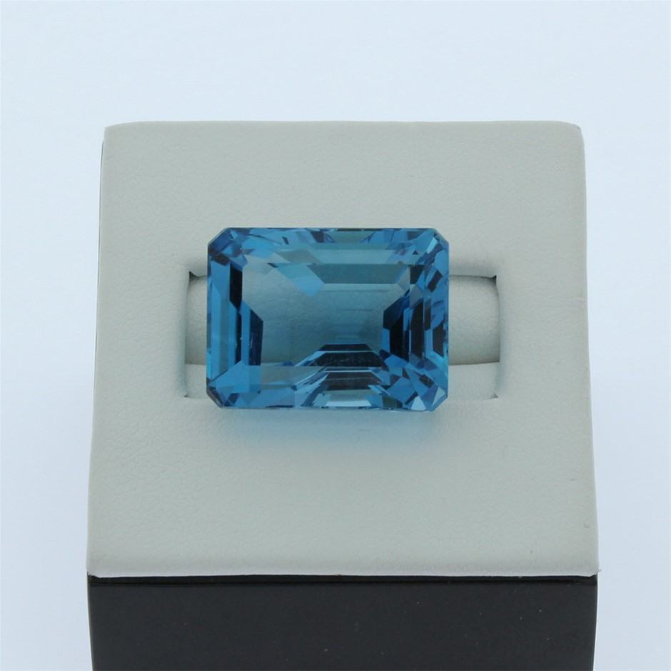 One Loose Blue Topaz 50.10ct in Total