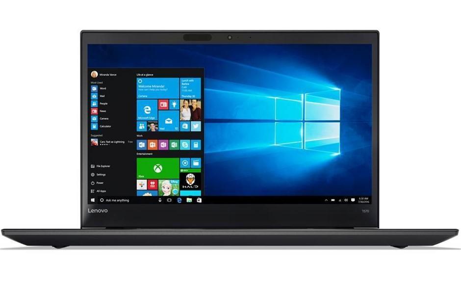 Lenovo ThinkPad T570 15.6-inch Notebook, Black