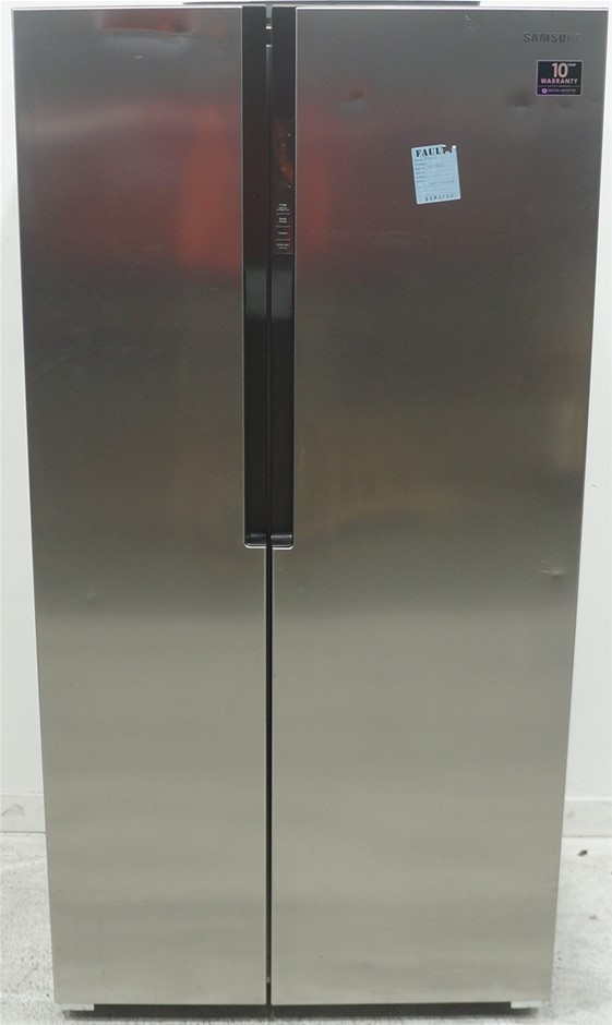 Samsung 584L Side by Side Fridge (Silver) (SRS583NLS)