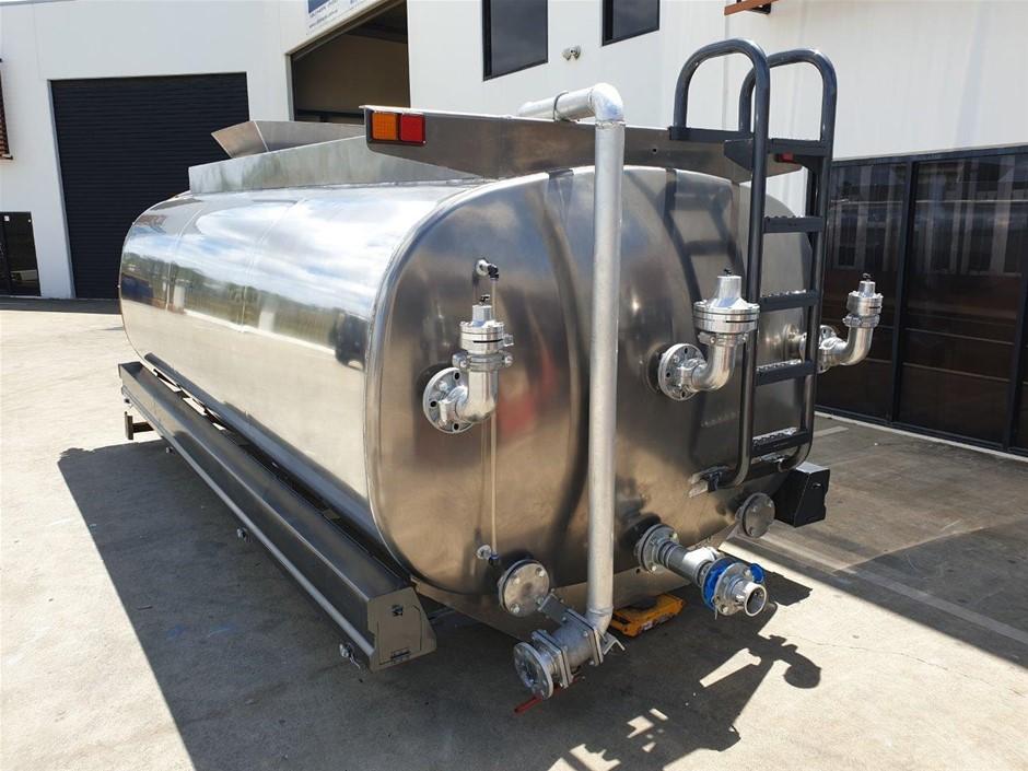 Unused 13,000L Aluminium Water Truck Kit