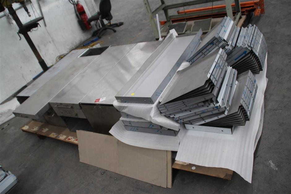 Pallet Assorted Stainless Steel Caravan Components Includes, Va