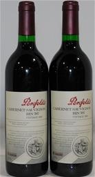 Penfolds `Bin 707` Cabernet Sauvignon 1998 (2x 750mL) Barossa, SA