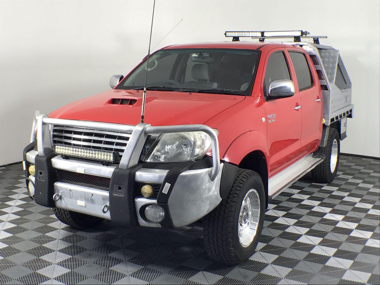 2011 Toyota Hilux SR5 (4x4) KUN26R Turbo Diesel Manual Dual Cab