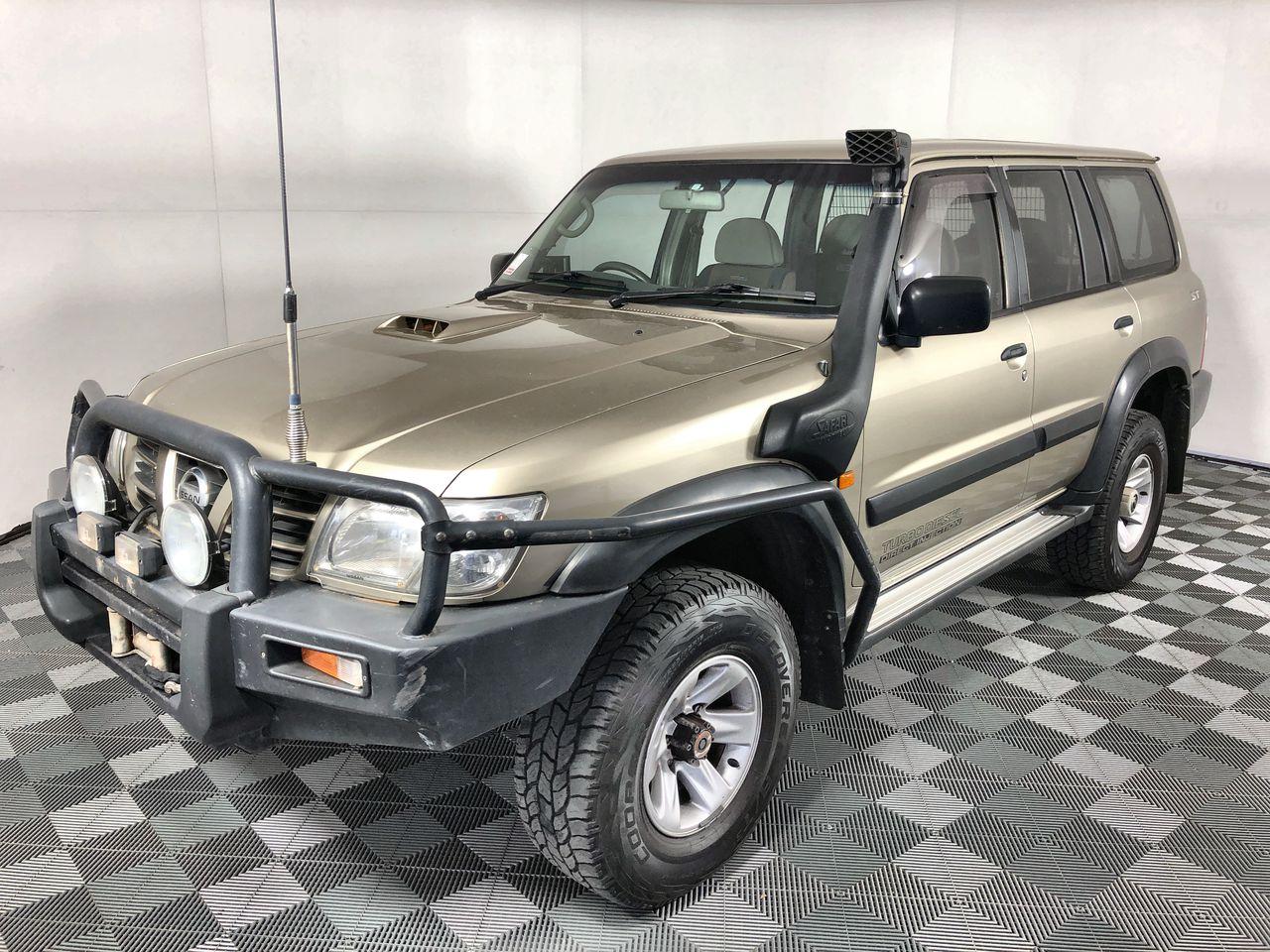 2002 Nissan Patrol ST (4x4) GU II Turbo Diesel Automatic Wagon