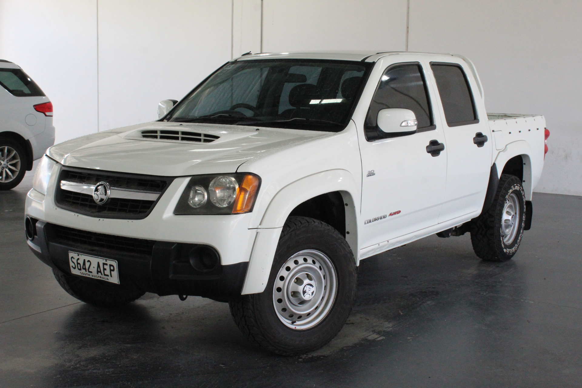 2009 Holden Colorado LX (4x4) RC Turbo Diesel Manual Dual Cab